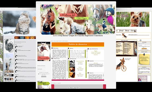 Crea un forum sugli animali