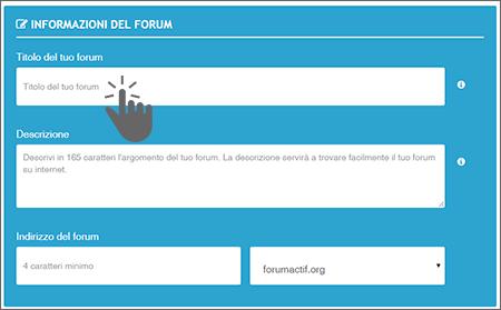 Il formulario