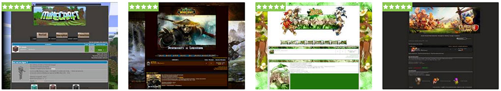 thèmes gratuits jeu vidéo